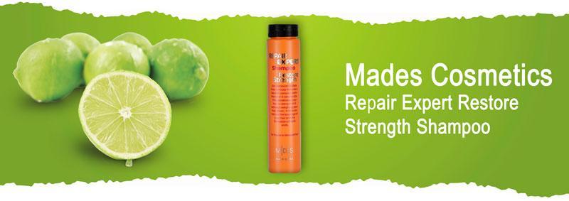 Шампунь «Восстановление прочности. Спасение волос» Mades Cosmetics Repair Expert Restore Strength Shampoo