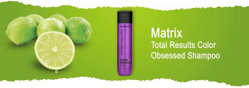 Шампунь для сохранения цвета окрашенных волос Matrix Total Results Color Obsessed Shampoo