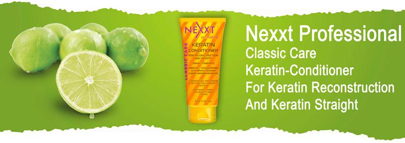 Nexxt Professional Classic Care Keratin-Conditioner For Keratin Reconstruction And Keratin Straight