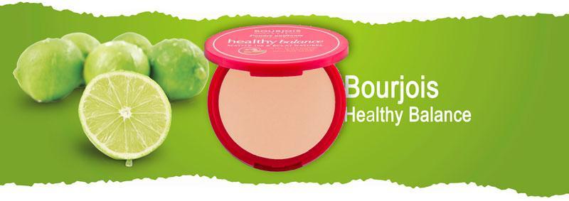 Компактная пудра для лица масс-маркет Bourjois Healthy Balance