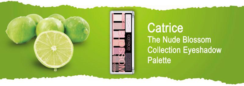 Палетка теней Catrice The Nude Blossom Collection Eyeshadow Palette