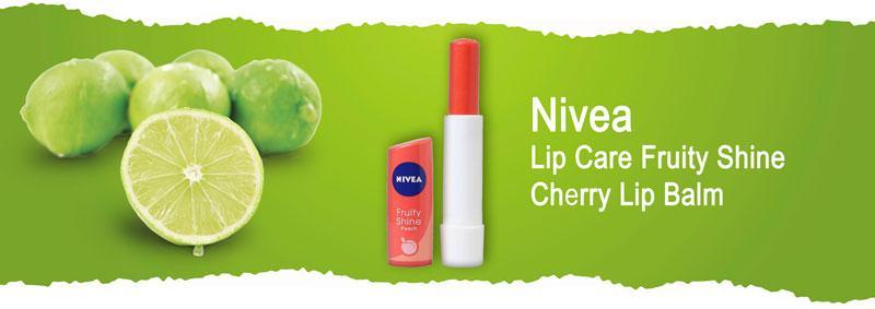 Бальзам для губ {amp}quot;Фруктовое сияние. Вишня{amp}quot; Nivea Lip Care Fruity Shine Cherry Lip Balm
