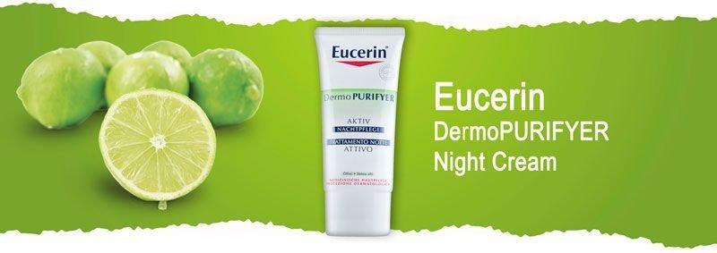 Увлажняющий ночной крем для проблемной кожи лица Eucerin DermoPURIFYER Night Cream