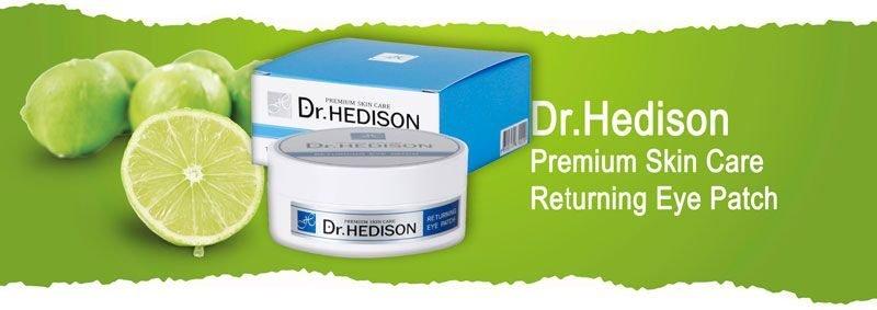 Гидрогелевые патчи с пептидами для зоны вокруг глаз Dr.Hedison Premium Skin Care Returning Eye Patch