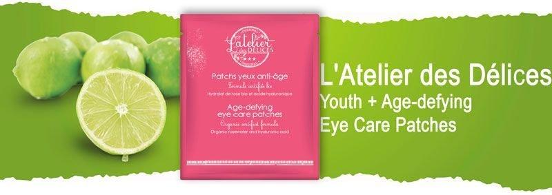 Омолаживающие подтягивающие гиалуроновые патчи под глаза L'Atelier des Délices Youth+ Age-defying Eye Care Patches