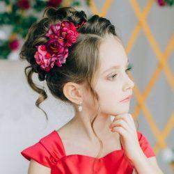 Самые модные прически для девочек на выпускной в детский сад 2020
